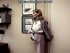 Lee Caroll, Sharon Kane in fur covered cooch eaten and