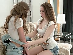 What happens when to sexy and horny best friends spend too much time together? Well, in some cases what happens is what you are about to see here: hot lesbian sex!