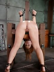 In the final episode of Maddy O'Reilly's live demonstrate, all bets are off. We have penetrated out all over her other holes, it is time for a severe ass-fuck training. This superslut is a prominent assfuck hoe, can she take the kind of donk plowing that Sexuallybroken dishes out? It is not for the swoon of heart or powerless of loins…