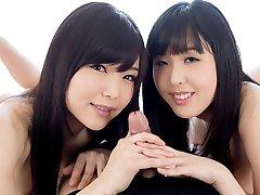 Handjob Japan Natsuki Yokoyama, Shino Aoi