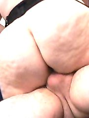 Taking two cocks for some hard fucking
