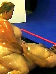 Oiled up for a wild fuck session
