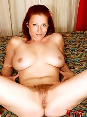Hairy Redhead Gets Fucked