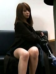 Misa Yuki Asian has boobs touched and pussy PublicSexJapan.com