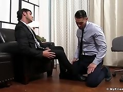 Alex and Rego enjoy free-for-all time with feet fetish and jerking