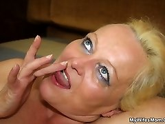 The gal is his wife's mother and she has an mischievous dream for hard dick meat