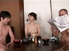 Japanese Mom blackmailed by Step Sonny 2
