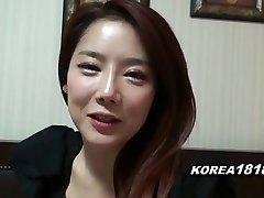KOREA1818.COM - Hot Korean Damsel Filmed for Sex