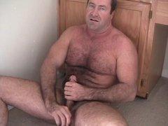 Carolina Jim Bedroom Jackoff Bear Draining Thick Dick Cock