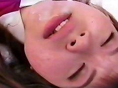 יפנית צעירה נוער ליהוק בפעם הראשונה במצלמה על ידי snahbrandy