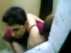 indonesian Maid Nail With Pakistani Stud in Hong Kong Public Toilet
