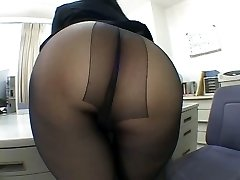 One of the hottest panty hose pipe worship scenes EVER!