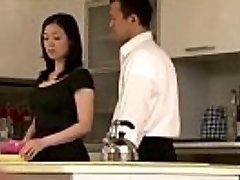 Chinese cougar housewife getting it on