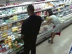 Grocery Store Gangbang Orgy
