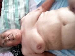 Mind blowing milf with huge orbs Ariella Ferrera screws young black guy