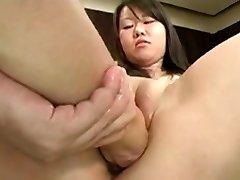 Asian Japanese Muff Fisting