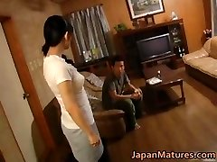 Horny japanese mature women engulfing part4