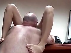 AsianSexPorno.Com - Chinese office lady drilled on table