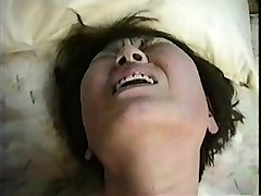 Japanese adulteress Mieko mother and not son Three