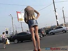 Asian upskirt hidden cam activity