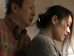 Mina Kanamori torrid Japanese milf is a horny housewife