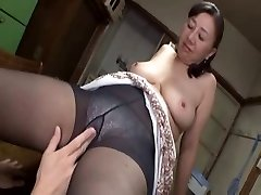 Asian mature sweetie sizzling sex with a super-naughty young boy