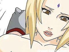 Naruto Anime Porn - Dream lovemaking with Tsunade