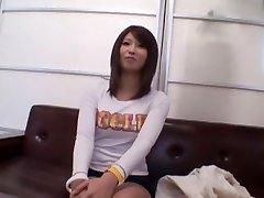 Best Japanese girl Saya Mizuki in Horny Blowjob, Casting JAV clip