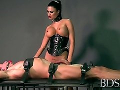 Horny sex industry star in Hottest DOMINATION & SUBMISSION, Handjobs xxx scene