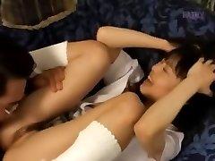 Smallish spunk-pump smoking from Japan