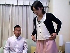 Tomomi Shimazaki Nailed in front of Spouse (Uncensored)