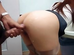 Japanese doll fucked in public