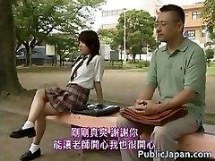 Asian Modell hat heißen sex in der öffentlichkeit Teil2