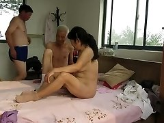 Asian Granddads in Activity
