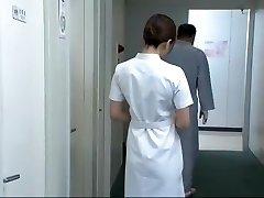 Hottest Asian model Aya Kiriya, Mirei Yokoyama, Emiri Momoka in Exotic Nurse JAV vid