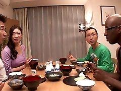 Incredible Japanese female Reiko Kobayakawa in Best big dick, fat mounds JAV clip