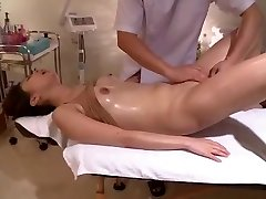 Wriggles In Voyeur Clean-shaven Massage