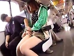 Ultra-cute girl with hot legs puts her oral skills into actio