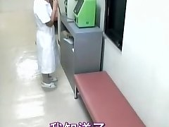 Delicious nurse creampied in spy cam medical flick