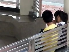 Asian school college girls caught fucking in school
