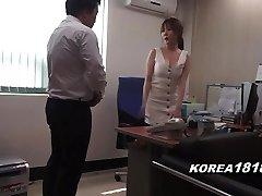 Korean porno RED-HOT Korean Boss Lady