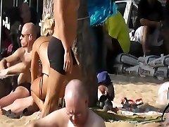 Pattaya beach נסתרת מצלמת - כסף חול מלון 2011