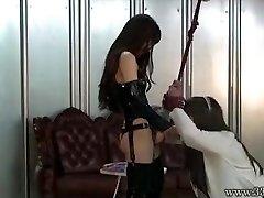 Japanese Femdom Emiru BDSM Strap Dildo Fucking