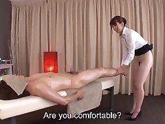 Subtitles Yui Hatano bottomless Japanese massage