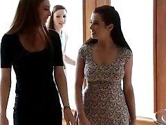 Asa Akira and Taylor Vixen girly-girl boning