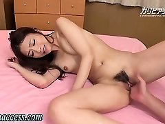 Asian gal squirts after fingering