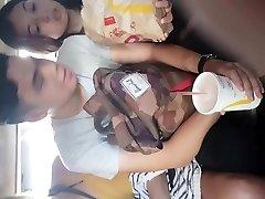 Boso sa Jeep..Magandang Chix (EBONY PANTY) with boyfriend