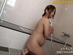 Stunning Pregnant Japanese COUGAR - Part 1