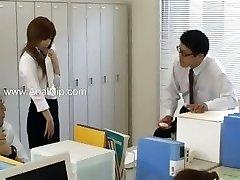tokyo secretary from Tokyo with butt milk