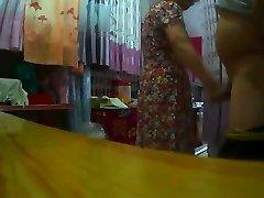 Demonstrating Made Japanese Granny Horry